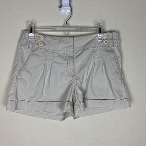 Loft- Oatmeal Colored Shorts size 6